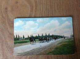 Armée Belge Pieçe Artillerie En Marche - Guerre 1914-18