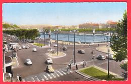 CPSM-69- LYON -Ann.60 -  Entrée Du Pont Lafayette * Animation** 2 SCANS - Otros