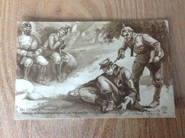 Armée Les Officiers Prussiens - Guerre 1914-18