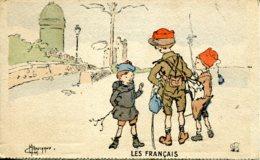 CPA - LES FRANCAIS - SIGNE MARECHAUX - Illustrateurs & Photographes