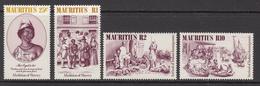 1984 Mauritius Abolition Of Slavery Set Of 4  MNH - Mauritius (1968-...)
