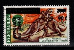 Benin - YV PA 353 Surcharge Sur Dahomey Oblitere - Tyrannosaure - Bénin – Dahomey (1960-...)