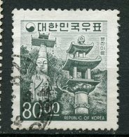 Korea 1966 80w Temple Issue #525 - Korea, South