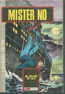 MISTER NO  Reliure N° 47 ( N° 142 + 143 + 144 )  -  MON JOURNAL  1987 - Mister No