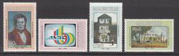 1990 Mauritius 25th Events & Anniversaries Set Of 4  MNH - Mauritius (1968-...)