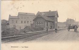 Sprimont - La Gare (animée, 1906) - Sprimont