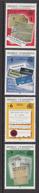 1993 Mauritius Francophone Summit French Publications, Napoleonic Code,  Set Of  4 MNH - Mauritius (1968-...)