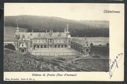 +++ CPA - CHATELINEAU - Château De PRESLES - Cour D'honneur - Nels Série 18 N° 13  // - Châtelet
