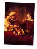 Carte Tableau Rembrandt Jacob Cachet Saint Louis Sur Carré Jeanne D'arc Nantes - Peintures & Tableaux