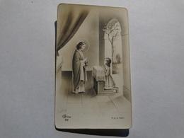 Souvenir De La Communion Solennelle De Christiane Gérard Le 29 Mai 1955 à Romerée (Namur). - Godsdienst & Esoterisme