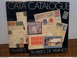 Catalogues Spécialisés De Timbres De France - Tomes I (1975) & II (1982) - Yvert & Tellier - Autres