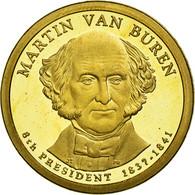 Monnaie, États-Unis, Dollar, 2008, U.S. Mint, Martin Van Buren, SPL - Emissioni Federali
