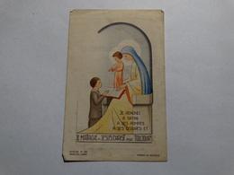 Souvenir De La Communion Solennelle De André Lejeune Le 09 Juin 1946 à Nismes. - Godsdienst & Esoterisme