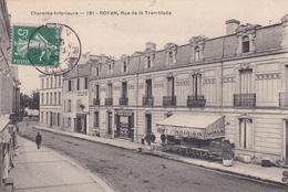 CPA  ROYAN  17 :  Rue De La Tremblade   1908 - Royan