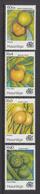 1997 Mauritius Fruit Set Of  4 MNH - Mauritius (1968-...)