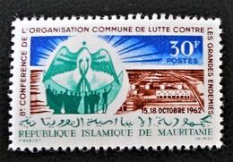 CONFERENCE ANTIENDEMIQUE 1962 - NEUF * - YT 160 - MI 195 - Mauritanie (1960-...)