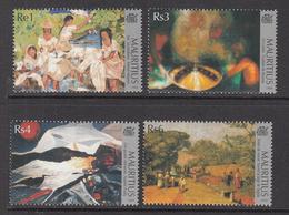 1999 Mauritius Paintings Set Of 4  MNH - Mauritius (1968-...)
