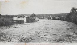 VILLEFRANCHE DE ROUERGUE (Aveyron) :  L'AVEYRON Durant L'inondation De Décembre 1906 - Villefranche De Rouergue