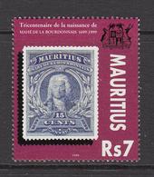1999 Mauritius 300th Anniv Of Bith Of Admiral De La Bourdonnais Set Of 1 MNH - Mauritius (1968-...)