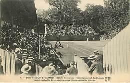 92 : Saint Cloud  Championnat Du Monde 1912  De Tennis Feminin - Saint Cloud