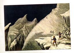 Carte Gravure Ascension Mont Blanc Cachet Chamonix Sur Ramses Vlaminck - Arts