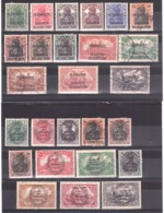 Allemagne - Allenstein - 1920 - N° 1 à 28 (sauf 18 Et 19) - Neufs Et Oblitérés - Plébiscite - Traité De Versailles - Timbres
