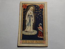 Prière à La Sainte Vierge Des Pauvres De Banneux. - Godsdienst & Esoterisme