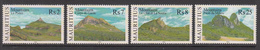 2004 Mauritius Mountains Set Of 4  MNH - Mauritius (1968-...)