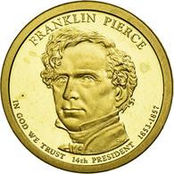 Monnaie, États-Unis, Dollar, 2010, U.S. Mint, Franklin Pierce, SPL - Emissioni Federali