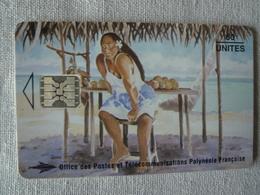 PF26 - LA VENDEUSE DE MANGUES - 50 SC5 - Polynésie Française