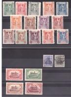 Marienwerder - 1920 - Deux Séries Complètes - Timbres Neufs * + 2 Tp Oblitérés - Cote 100 - Timbres