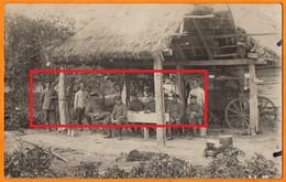 GUERRE A L'EST - OFFICIERS AU REPOS  -  PIONNIERS Du WURTEMBERG, BATAILLON N°326  -  HOLOBY  1916 - Weltkrieg 1914-18