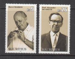 2013 Mauritius Famous Men Painter, Constitutional Commissioner Set Of 2  MNH - Mauritius (1968-...)