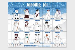 Faeroër / Faroes - Postfris / MNH - Sheet Kerstmis 2018 - Féroé (Iles)