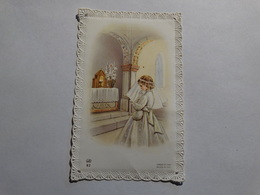 Souvenir De La Communion Solennelle De Arlette Henrard Le 21 Mai 1961 à Romerée (Namur). - Godsdienst & Esoterisme