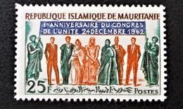 CONGRES DE L'UNITE 1962 - NEUF * - YT 163 - MI 199 - Mauritanie (1960-...)