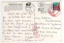 Beau Timbre , Stamp Sur Cp , Carte , Postcard DU 29/09/1999 - Etats-Unis