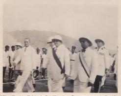 Photo Ancienne Afrique Cote D'ivoire  Visite Du Président Vincent Auriol A.O.F  PRIX FIXE - Africa