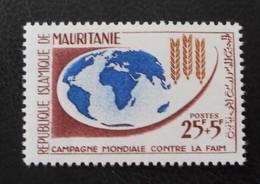 CAMPAGNE MONDIALE CONTRE LA FAIM 1963 - NEUF ** - YT 164 - MI 200 - Mauritanie (1960-...)