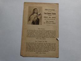 Neuvaine à La Très Sainte Trinité Par L'intersection De Sainte Thérèse De L'Enfant-Jesus. - Godsdienst & Esoterisme