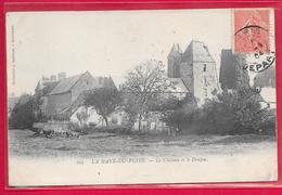 50-La Haye Du Puits-Le Château Et Le Donjon-cpa  écrite - France