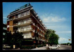 B9633 SAN BENEDETTO DEL TRONTO - HOTEL RESIDENCE PALACE E LUNGOMARE MARCONI CON AUTO CAR FIAT 126 - Italia