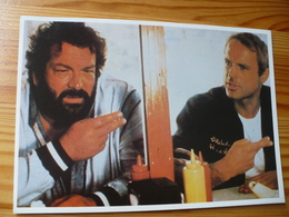 Postcard, Bud Spencer And Terence Hill - Actors