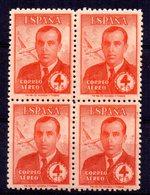 Sello Nº 991 En Bloque De 4 España - 1931-50 Nuevos & Fijasellos