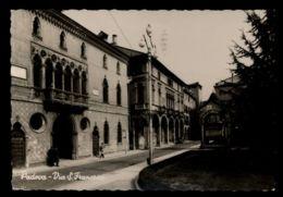 B9672 PADOVA - VIA SAN FRANCESCO FOTOGRAFICA B\N VG 1958 ED. JANOVITZ - Padova