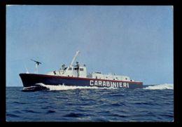 B9674 MILITARIA FORSE DELL'ORDINE CARABINIERI - SERVIZIO NAVALE DELL'ARMA DEI CARABINIERI VG 1974 DA LANCIANO A ROMA - Guerra
