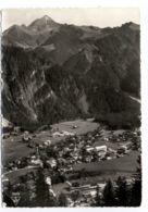B9675 TIROL - AUSSICHT VOM GASHAUS ZIMMEREBEN UAF MAYRHOFEN WITH STATION AND TRAIN ZUG - Austria