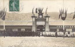 38 - Grenoble - Stand Du Concours International De Tir 1911, Nombreux Militaires, Carte Photo Oddoux - Grenoble