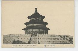 ASIE - CHINE - CHINA - PEKIN - PEKING - The Temple Of Heaven - Chine
