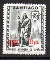 Viñeta De Santiago Con Sobrecarga 25 Pts - España